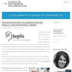 Témoignages de collaborateurs de Sogilis, une entreprise libérée