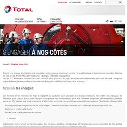 Offres d'emploi, portraits de collaborateurs et partenaires – Total France