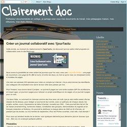 Créer un journal collaboratif avec 1jour1actu