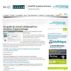 Un guide du travail collaboratif en situation d'apprentissage
