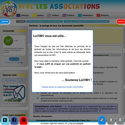 DocAsso : Documents associatifs en ligne