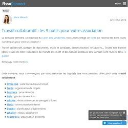 Travail collaboratif : les 9 outils pour votre association