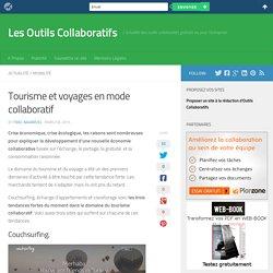 Tourisme et voyages en mode collaboratif