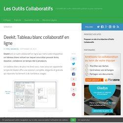 Deekit. Tableau blanc collaboratif en ligne