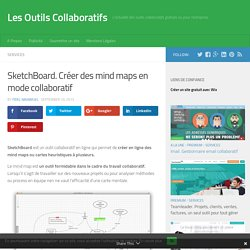 SketchBoard. Créer des mind maps en mode collaboratif
