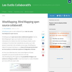 WiseMapping. Mind Mapping open source collaboratif.