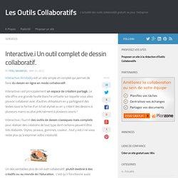 Interactive.i Un outil complet de dessin collaboratif