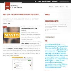 Siasto. Outil collaboratif pour la gestion de projets