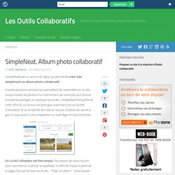 SimpleNeat. Album photo collaboratif