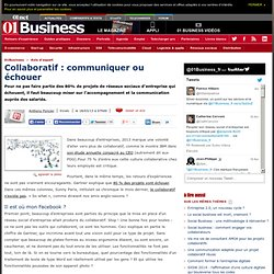 Collaboratif : communiquer ou échouer par @aponcier