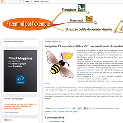 Freeplane 1.2 en mode collaboratif : une solution est disponible !
