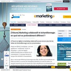[Tribune] Marketing collaboratif et échantillonnage: en quoi est-ce profondément différent ?