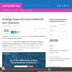 Outils tice cecilecdi pearltrees for Espace de travail collaboratif