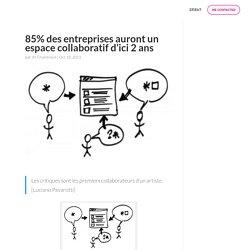 85% des entreprises auront un espace collaboratif d'ici 2 ans