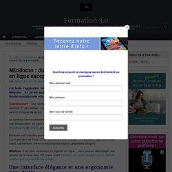 Mindomo : du mindmapping collaboratif en ligne exceptionnel – Formation 3.0