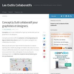 Concept.ly. Outil collaboratif pour graphistes et designers.