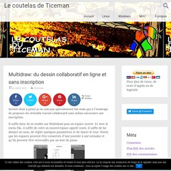 Multidraw: du dessin collaboratif en ligne et sans inscription