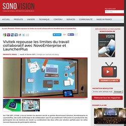 Sonovision - Vivitek repousse les limites du travail collaboratif avec NovoEnterprise et LauncherPlus