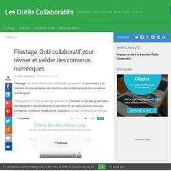 Filestage. Outil collaboratif pour réviser et valider des contenus numériques