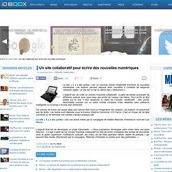 Un site collaboratif pour écrire des nouvelles numériques