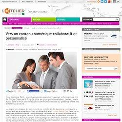 Vers un contenu numérique collaboratif et personnalisé