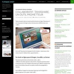 Collaboratif : Tamashare, un outil prometteur