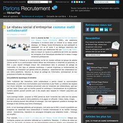 Le réseau social d'entreprise comme outil collaboratif, Michael Page