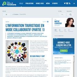 Information touristique en mode collaboratif - Veilletourisme.ca