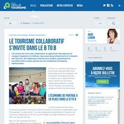 Le tourisme collaboratif s'invite dans le B to B - Veilletourisme.ca