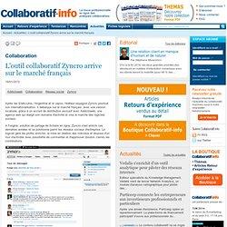 L'outil collaboratif Zyncro arrive sur le marché français