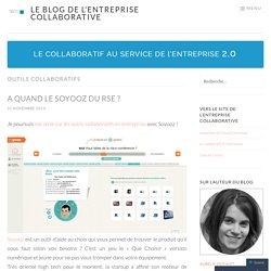 Le blog de l'entreprise collaborative