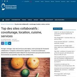 Top des sites collaboratifs : covoiturage, location, cuisine, services