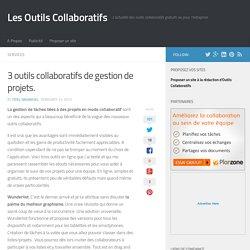 3 outils collaboratifs de gestion de projets