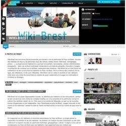 Wiki-Brest : Carnets collaboratifs sur le vivre ensemble et le patrimoine par les habitants du Pays de Brest.