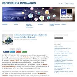 Edition numérique : des projets collaboratifs pour créer le livre de demain