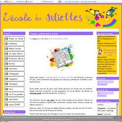 Puzzles collaboratifs d'Arts - L'école des Juliettes