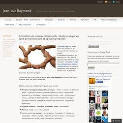 Animation de réseaux collaboratifs : Guide pratique en ligne personnalisable