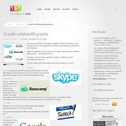 12 outils collaboratifs gratuits