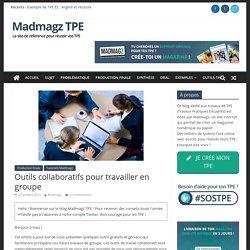 Conseil TPE : Outils collaboratifs pour travailler en groupe