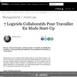 7 Logiciels Collaboratifs Pour Travailler En Mode Start-Up