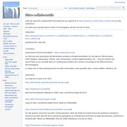 Sites collaboratifs - WikiOpenTruc