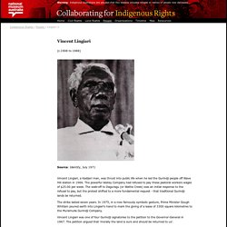 Collaborating for Indigenous Rights 1957-1973