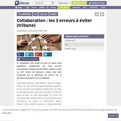Collaboration : les 3 erreurs à éviter