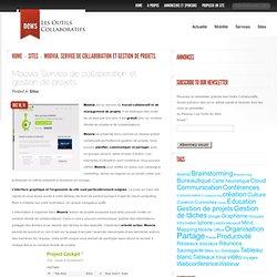 Moovia. Service de collaboration et gestion de projets