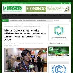 Arlette SOUDAN salue l'étroite collaboration entre le 4C Maroc et la commission climat du Bassin du Congo - Le Vert