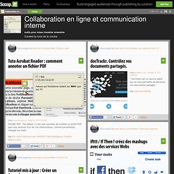 Collaboration en ligne et communication interne