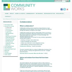 Community and Voluntary Sector Forum