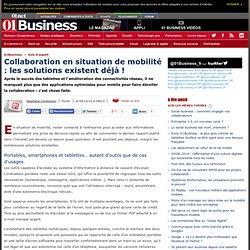 Collaboration en situation de mobilité : les solutions existent déjà ! par @s_cordonnier