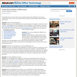 What is Online Collaboration? - A Definition of Online Collaboration