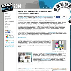 Special Award for European Collaboration in the creation of Educational Media 2011